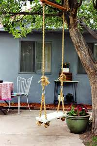 Garden landscaping playful kids tree swings for backyard garden luxury busla home decorating