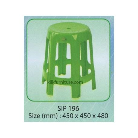 Kursi Plastik Sender kursi baso plastik 196 shinpo harga termurah