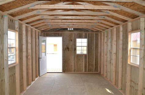 Pics Inside 14x32 House by Interior Pictures Rent2ownsheds Com