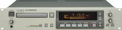 format audio cd normal tascam cd rw5000 image 166798 audiofanzine
