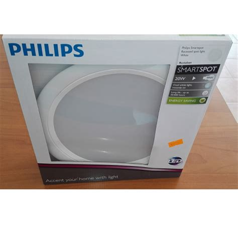 Lu Downlight Led Philips 2015 grupo respira foco downlight led empotrar 20w philips blanco