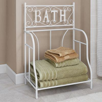 towel stackers bathroom bath towel stacker from seventh avenue d9757053