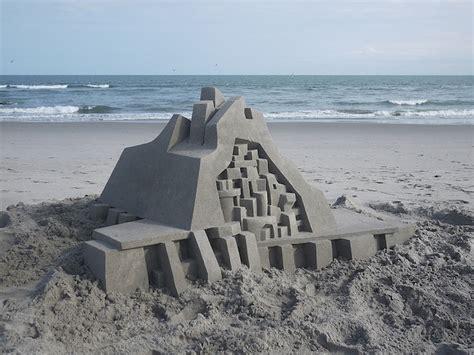calvin seibert impressive modernist sand castles by calvin seibert