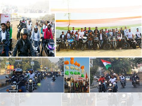 Ride For Mba by Ride For Nation Bike Rally Gandhinagar Institute Of