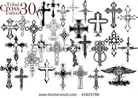 cross tattoo design on arm
