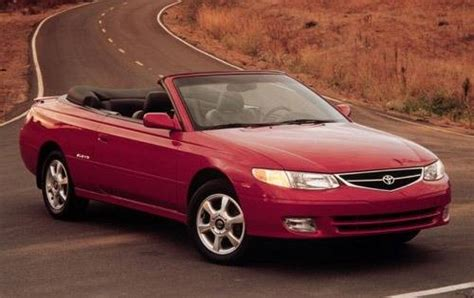 2001 Toyota Camry Solara Reliability 2001 Toyota Camry Solara Warning Reviews Top 10 Problems