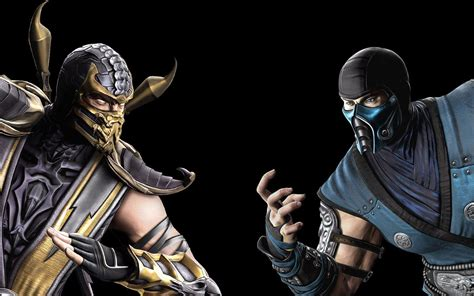 imagenes de scorpion vs sub zero sub zero wallpapers wallpaper cave
