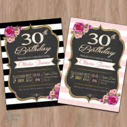 30th birthday invitation 30th birthday invitation for