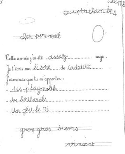 Exemple De Lettre Au Pere Noel En Espagnol la lettre au p 232 re no 235 l des cp