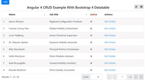 templates crud bootstrap 10 best angular 4 crud exles angular 2 4 compatible