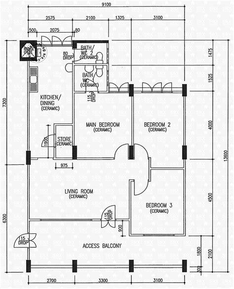 hdb floor plan floor plans for yishun ring road hdb details srx property