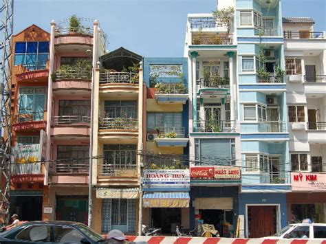 the house of saigon narrow vietnamese houses hcmc photo