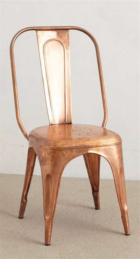 Copper Dining Chairs Redsmith Dining Chair Copper Tub Chair And Sprays