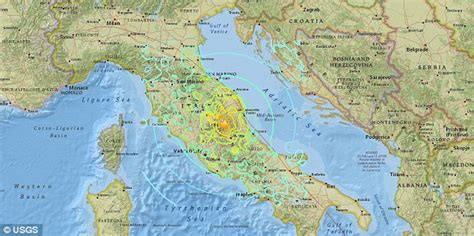 italy earthquake map italian earthquake aftershocks will continue for days