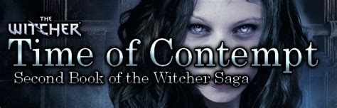 The Time Of Contempt community by n0signal book review time of contempt the witcher saga