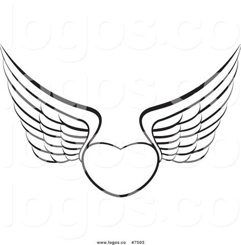 heart wing logo clip art vector clip art online royalty heart logo clipart 36