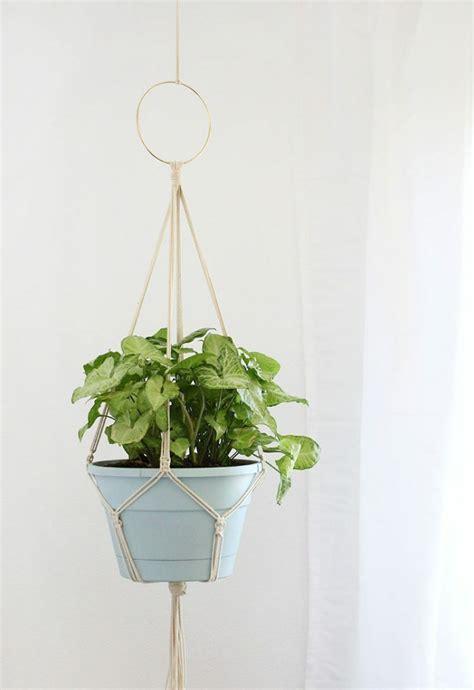 macrame easy 9 cheap easy diy macrame plant hangers balancing bucks