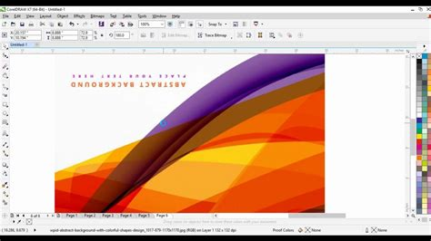 pattern corel draw x7 05 coreldraw x7 tutorials in hindi coreldraw tutorial