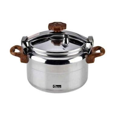 Panci Presto Trisonic Silver 12 L presto cooker blibli