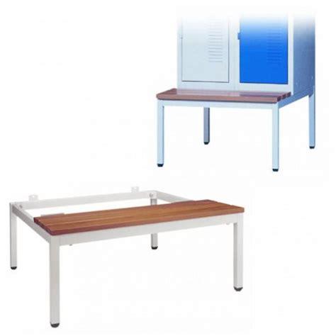 banc pour vestiaire socle banc pour vestiaire longueur 800 mm