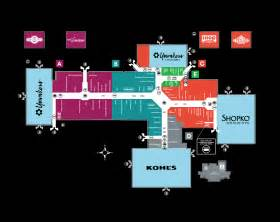 mall of stores map complete list of stores located at bay park square a