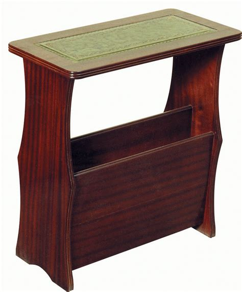 magazine rack with table top magazine rack leather top coffee tables