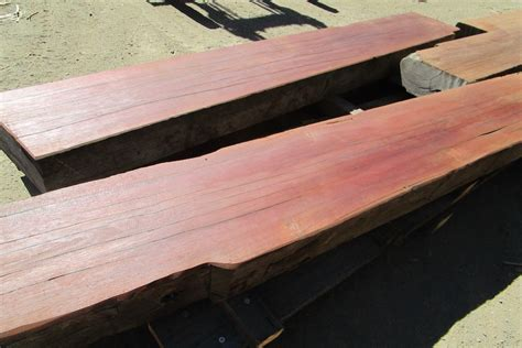 Landscape Timbers On Sale 2017 Recycled Jarrah Flat Top Beams For Furniture Timber