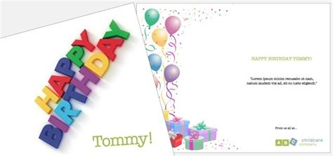 birthday card template for publisher greetings card childcare birthday istudio publisher