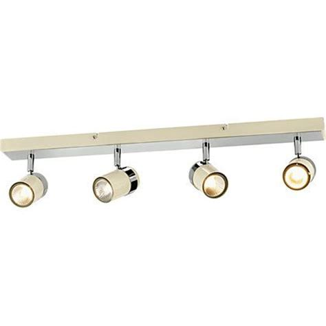 Homebase Lighting Kitchen Of House Shiro 4 Light Spotlight Bar Chrome 141592 Homebase 163 19 99 Lighting