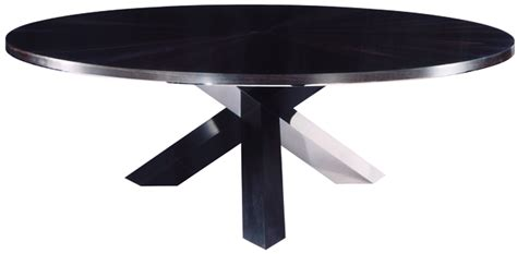 Bespoke Global Product Detail Ebony And Stainless Black Table