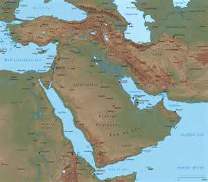 middle east map with rivers middle east map asia