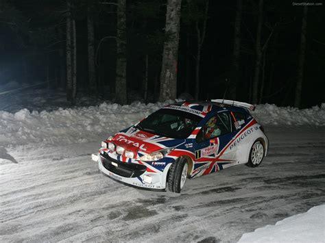Wallpaper Uk 45cmx10m 207 peugeot 207 s2000 at 2010 monte carlo rally car