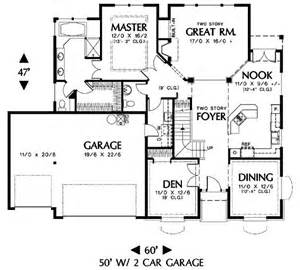 main floor house blueprint house plans pinterest