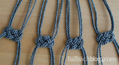 makramee kordel halbachblog i diy i h 228 ngeeln selber knoten i makramee i