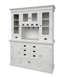 Kitchen Buffet And Hutch Furniture Belgravia Painted Kitchen Buffet Hutch Oak Furniture