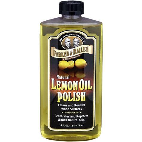 parker bailey natural lemon oil polish oz