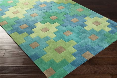 teal and lime green rugs surya cosmopolitan cos 9230 teal emerald green lime closeout area rug fall 2015