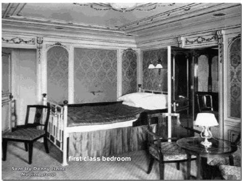 Titanic 1st Class Bedrooms by Class Bedroom
