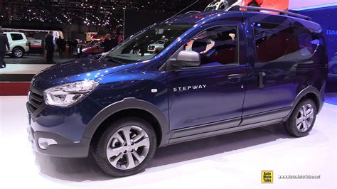 renault dokker interior 2016 dacia dokker stepway exterior and interior