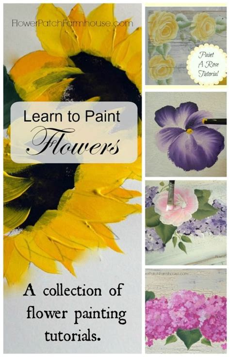 Learn How To Diy A Corsage by Learn How To Paint Flowers Paint Flowers One Stroke And