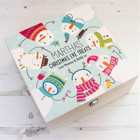 Christmas Eve Box   Snowman Christmas   The Laser Boutique