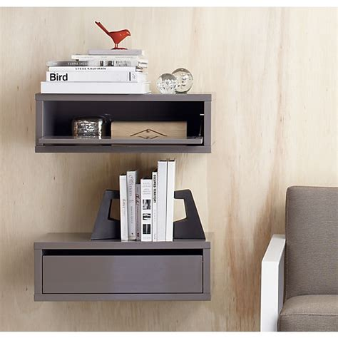 bedside shelves modern interior white floating bedside table