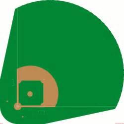 Baseball Field Template by Blank Baseball Field Diagram Cliparts Co