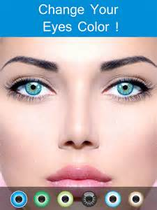 app that changes your eye color app shopper eye color changer makeup eye remover