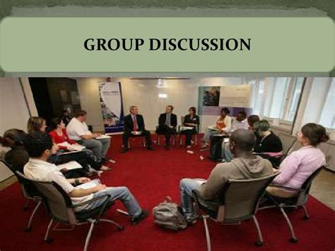 group discussion group discussion skills