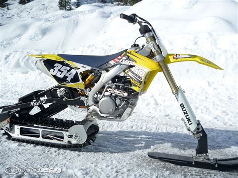 snow motocross bike image gallery snow bike