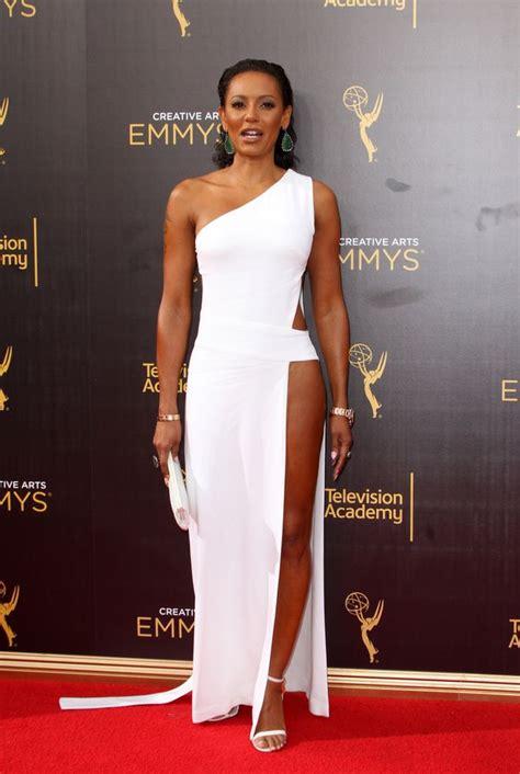 Mel Dress mel b dazzles in grecian inspired dress at of