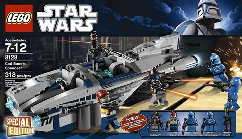 Lego 8128 Wars Cad Banes Speeder lego wars 8128 clone wars cad bane s speeder set lego complete sets packs