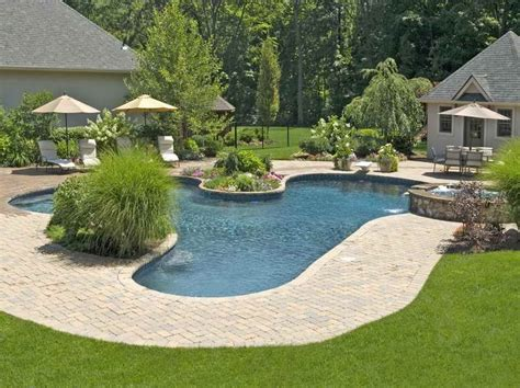 cool landscaping ideas for pools with resort style pool pinterest landscaping ideas