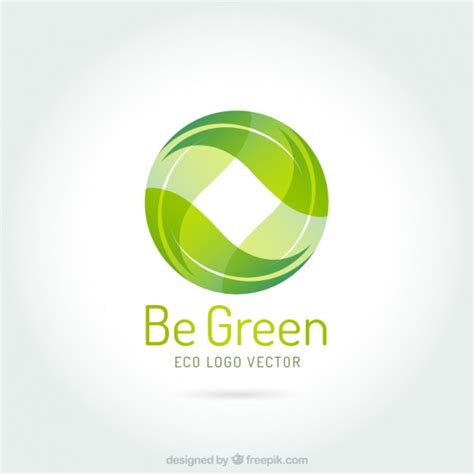Logo Green by Be Green Logo Vector Free